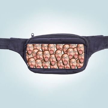 Personalised Face Bum Bags
