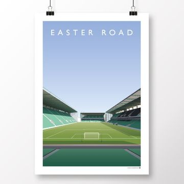 Championship & Football League Current Grounds Football Print