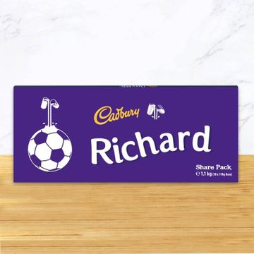 Personalised Cadbury Dairy Milk Chocolate Share Pack