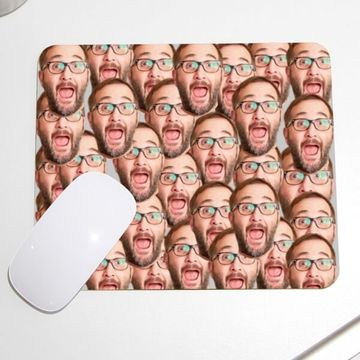 Personalised Face Mouse Mat