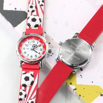 Personalised Kids Football Watch