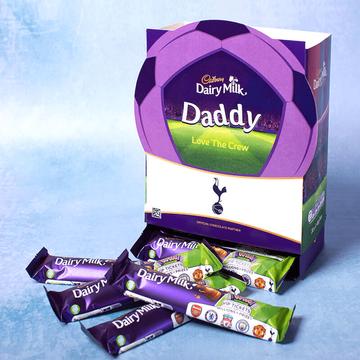 Personalised Football Cadbury Favorites Box
