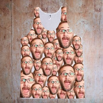 Personalised Face on Vest