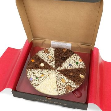 Delicious Dilemma Chocolate Pizza 10""