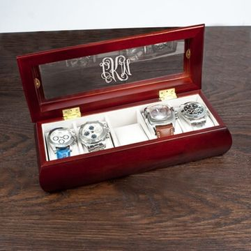 Personalised Wooden Watch Case