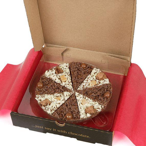 "Double Delight Chocolate Pizza 7"""