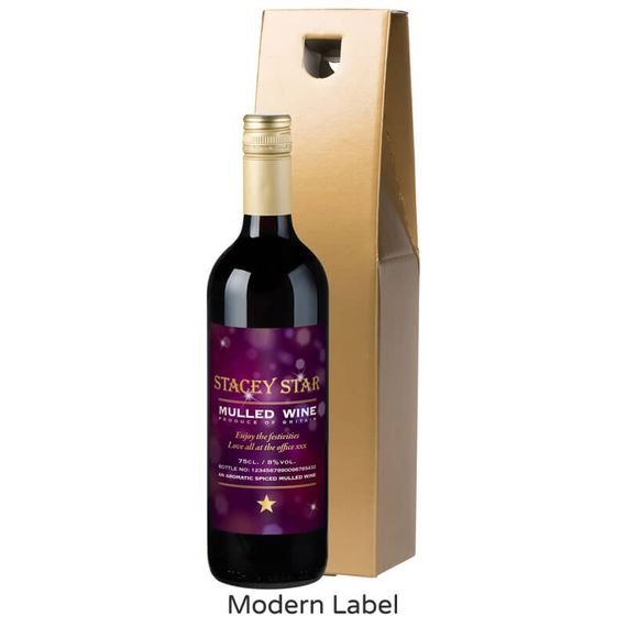 Personalised Bottle of Mulled Wine