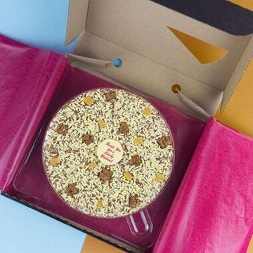 Personalised Chocolate Pizza 10""