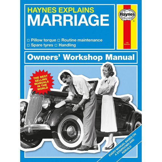 Haynes Explains Marriage - Owners Workshop Manual