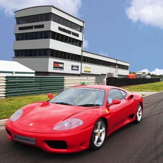 Ferrari and Aston Martin Driving Blast