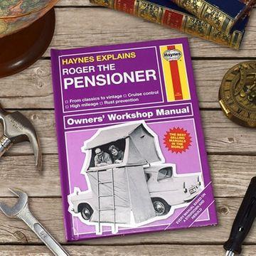 Personalised Haynes Explains The Pensioner Book
