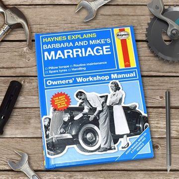 Personalised Haynes Explains Marriage Book