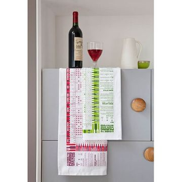 A Guide To Pairing Wine With Food Tea Towel - Set Of 2