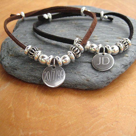 Personalised Mens India Bracelet