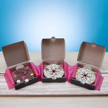 Mini Chocolate Pizza Gift Pack