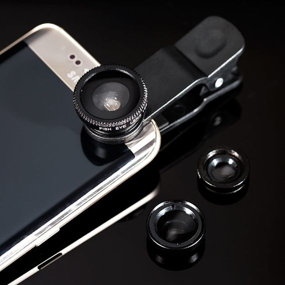 Smartphone 3 In 1 Lens Set