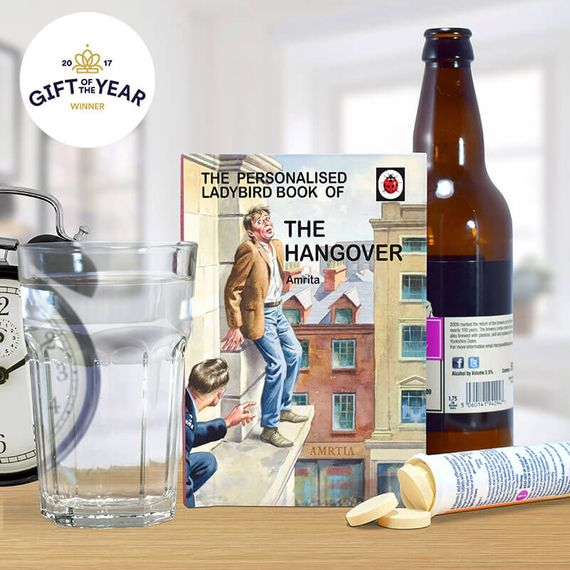 Personalised Ladybird Book of The Hangover