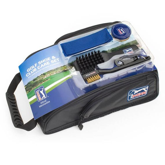 PGA Tour Golf Shoe Bag Kit