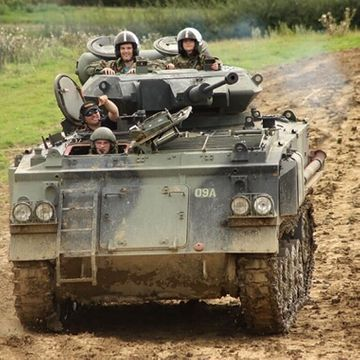 Tank Battle Paintballing Experience Day