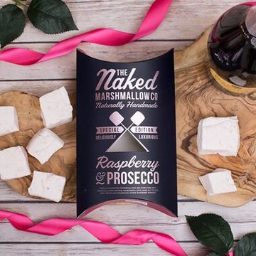 Raspberry & Prosecco Marshmallows