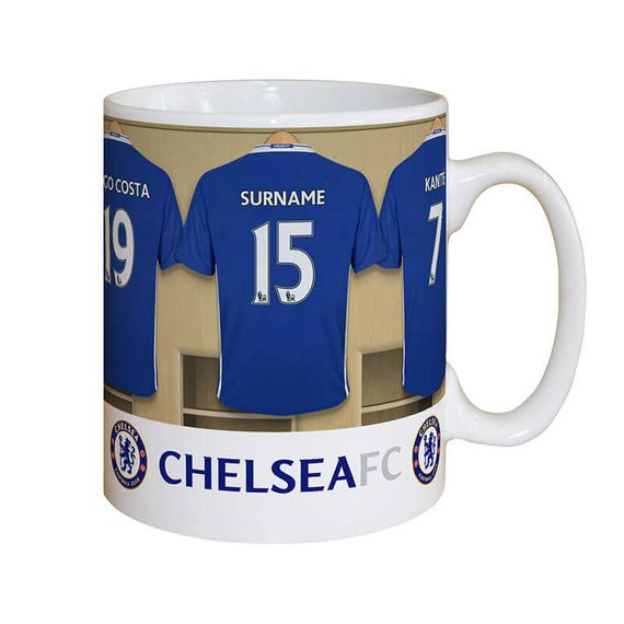 Personalised Dressing Room Mug - Chelsea