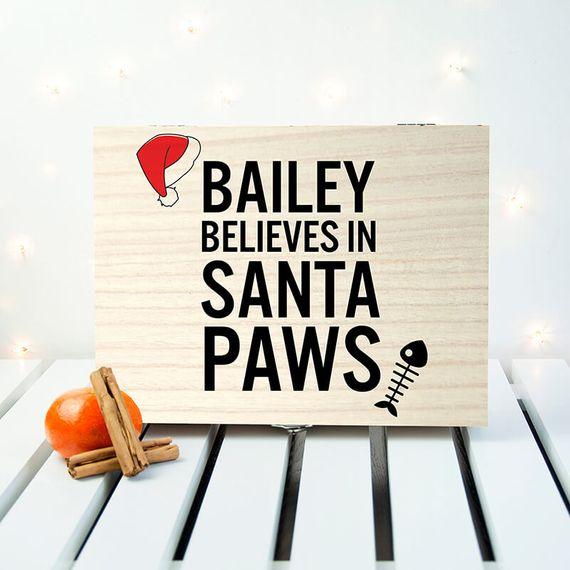 Personalised Pet Christmas Eve Box