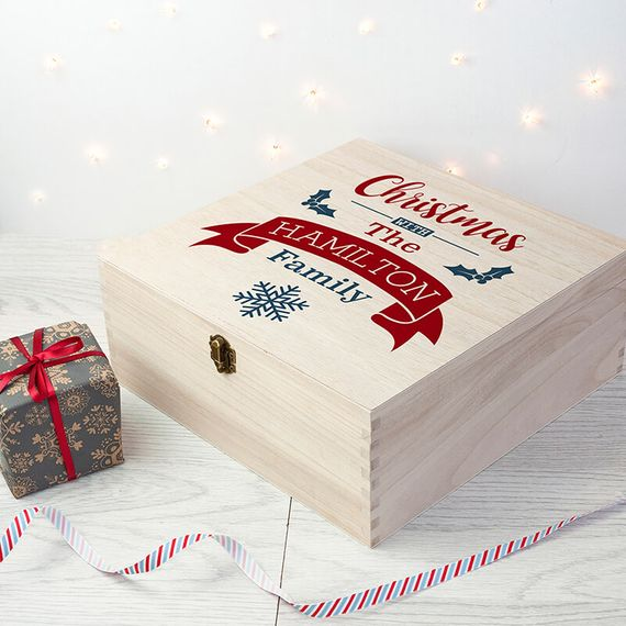 Personalised Our Family's Christmas Eve Box
