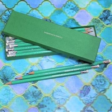 Personalised Mermaid Squad Pencil Set