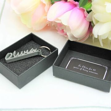 Personalised 3D Keyring