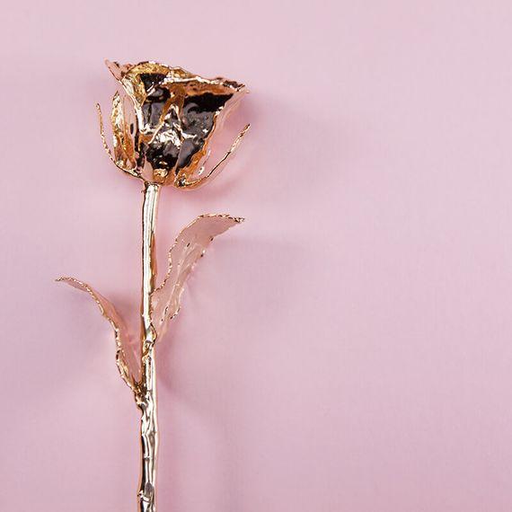 24 Carat Gold Rose