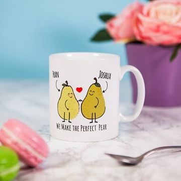 Personalised Perfect Pear Mug