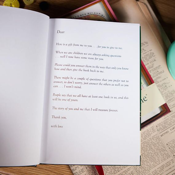 Dear Grandad - From You to Me Book
