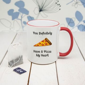 Pizza My Heart Mug