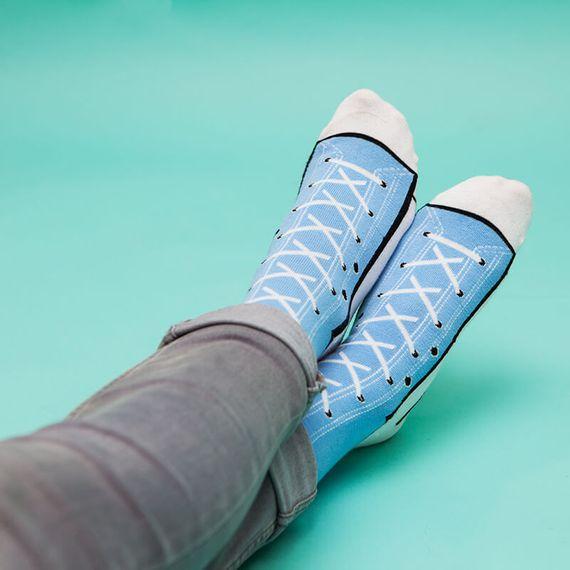 Sneaker Socks - Blue