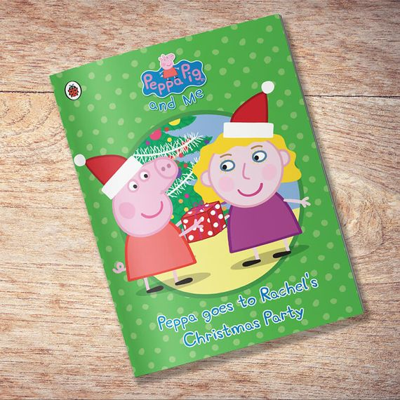 Personalised Peppa Pig - Peppa goes to Your Christmas Party