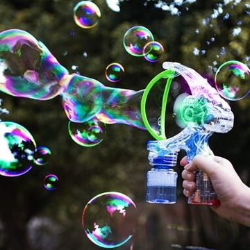 Light Up Giant Bubble Gun