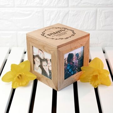 Personalised Mum's Photo Frame Keepsake Box