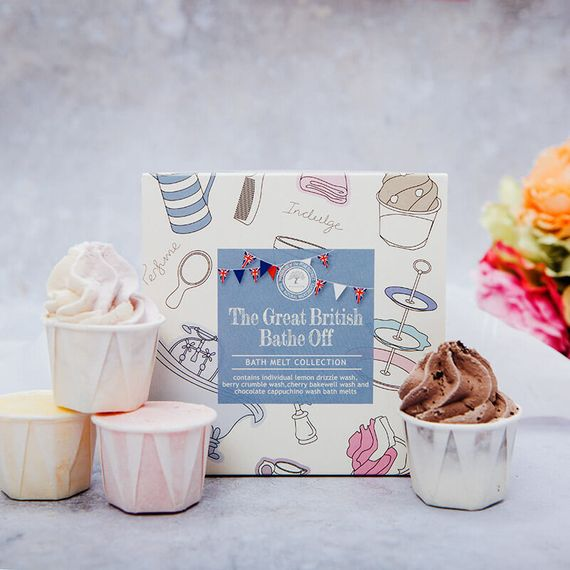 Handcrafted Christmas Gift Ideas - The Great British Bathe Off Bath Melts