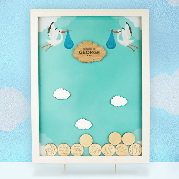 Personalised Christening Gift Drop Box