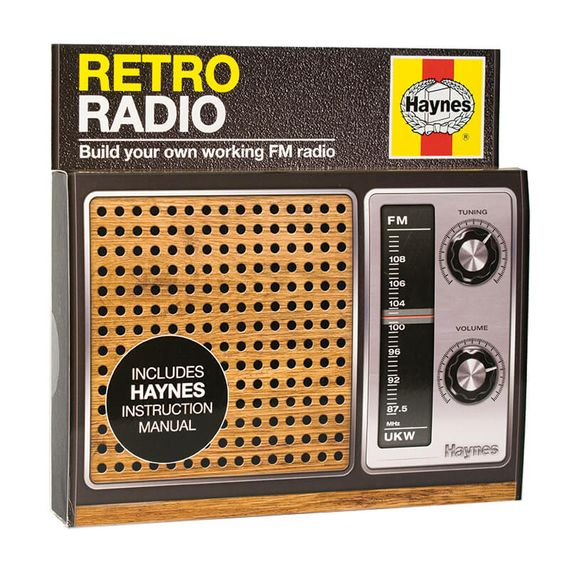 Haynes - Retro Radio Kit