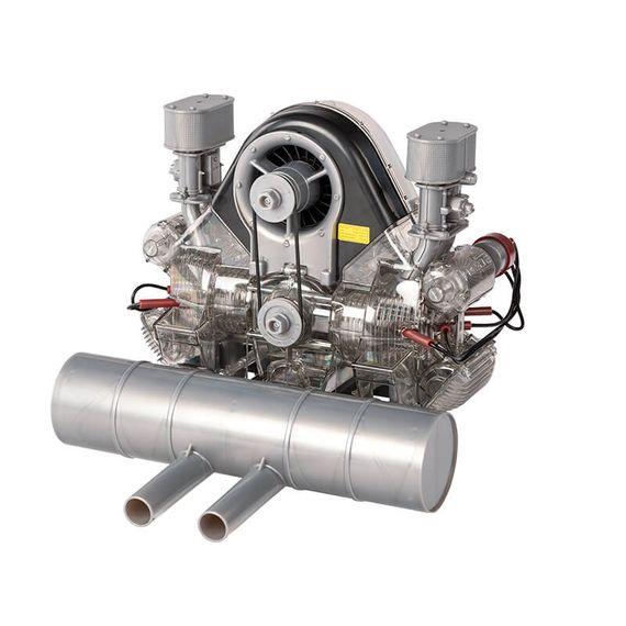 Build A Porsche Carrera Racing Engine