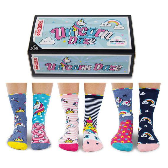 Unicorn Daze Girls Socks