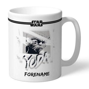 Personalised Star Wars Yoda Mug
