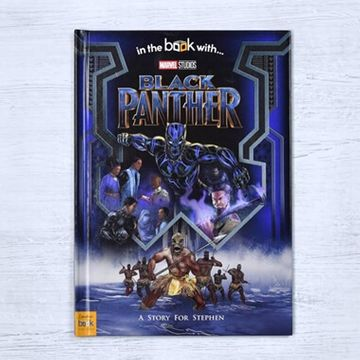 Personalised Marvel's Black Panther Book