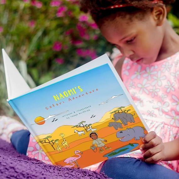 Personalised Safari Adventure Book