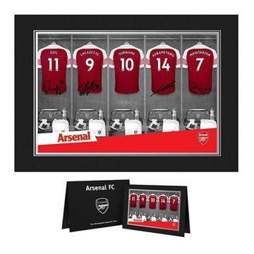 Personalised Arsenal Dressing Room Photo Folder