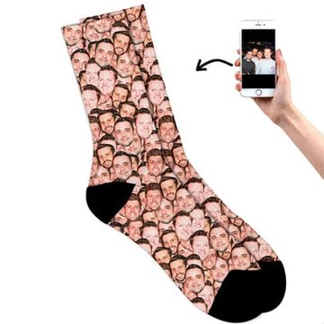 Personalised Multi Face Socks