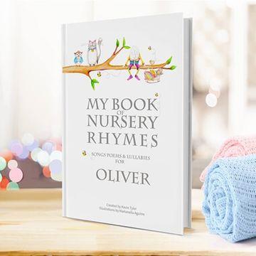 Personalised Book of Nursery Rhymes