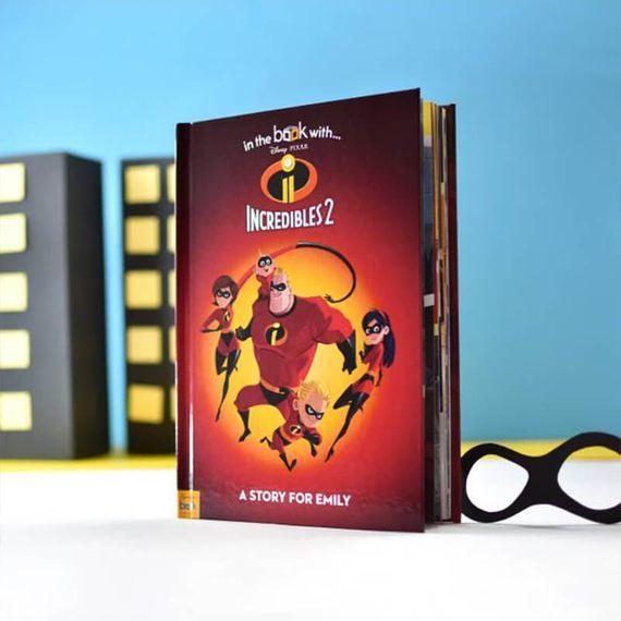 Personalised Disney Pixar Incredibles 2 Book
