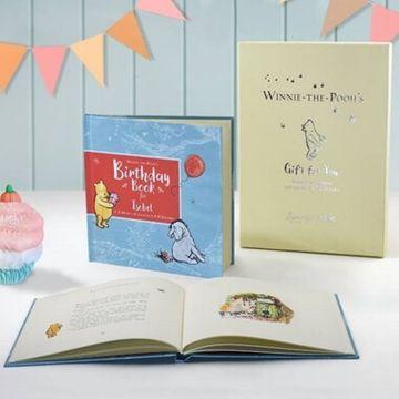 Personalised Winnie The Pooh Birthday Book